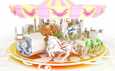 Chromatic carousel by k3-studio