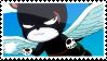 Pantherlily Stamp by whiteflamingo