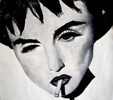 Madonna by MoodyBlueArt