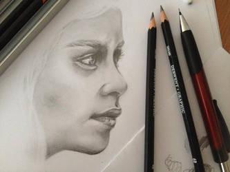 Khaleesi. by Fineliners