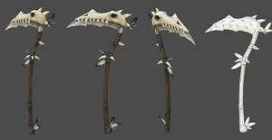 Tribal War Scythe by JohnMcFlurry