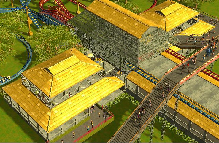 RCT3 Racer Station by MRGamer01 on DeviantArt