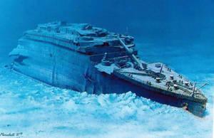 Titanic-quiet-grave by lusitania25