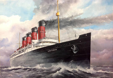 Lusitania Timeline - May 2nd 1915 by lusitania25