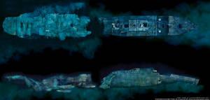 Titanic full wreck by lusitania25