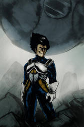 Vegeta arrived by Night-hawk-Tamps