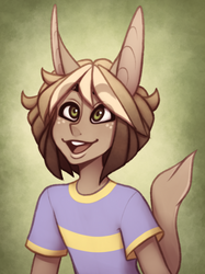 [Crack kid] Deer-Cat-Human Cutie by TheZodiacLord