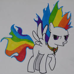 Super Rainbow Dash by Eusebe50