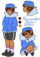 OC 4- Alexander Gomez by JellyBunBuns