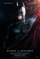 Batman Vs Superman Movie Poster by DISENT