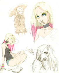 concepts II Samantha by chid0