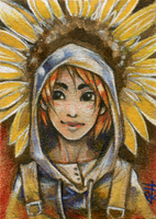 ACEO for Yone-kun III. by chid0