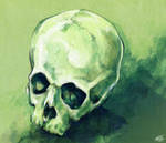 skull practice by chid0