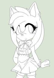 Little miss Rose .:WIP:. by Pinku-Hedgie