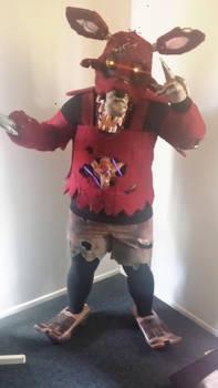 My Nightmare Foxy Costume By Captainfrightnite On Deviantart