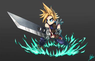 Cloud Brave Frontier/Exivus Style by Hyrchurn