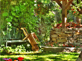 Garden HDR by Caligari-87