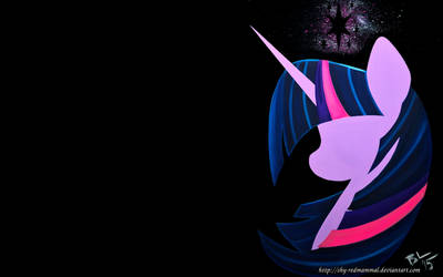 Twilight Sparkle (Wallpaper) by Caligari-87