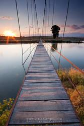 The Rope Bridge by tangratannakra