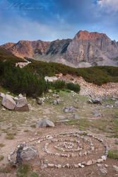 Momin peak, Pirin mountain by tangratannakra