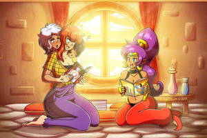Comic Book Friendship by Linkerluis by 364wii