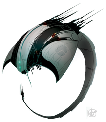 spaceship by GiusCB