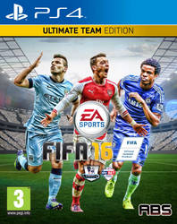 FIFA 16 Custom PS4 Cover by absproductions