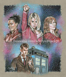 Doctor Who Companions by scotty309