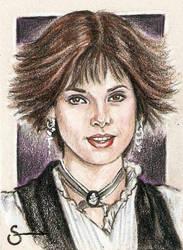Alice Cullen Sketch Card by scotty309