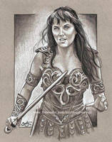 Xena Warrior Princess by scotty309