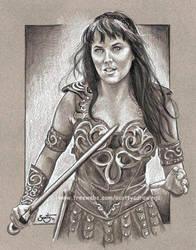 Xena Warrior Princess by scotty309