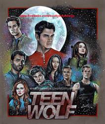 Teen Wolf 3b (2014) by scotty309