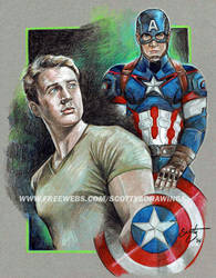 Steve Rogers - Captain America(2014) by scotty309