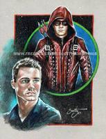 Arrow - Arsenal (2014) by scotty309