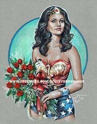 WONDER WOMAN - G.I. DREAM GIRL (2015) by scotty309