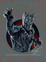 Black Panther 2016 by scotty309