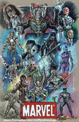 Marvel Villains (2016) by scotty309