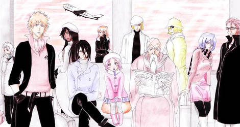 Bleach - The soul travel by Blychee