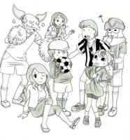 Professor Layton: Almost ready for the competition by Blychee