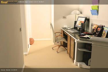 Built-in-Desk by MaxGuru