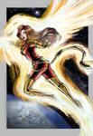 Phoenix's Flight by fiorellasantana