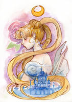 Princess of the Moon Kingdom by fiorellasantana