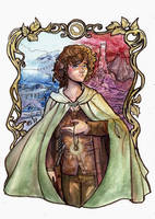 Frodo's Journey by fiorellasantana