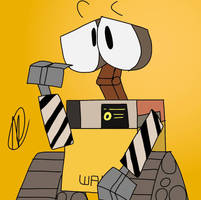 Just a Wall-E by TheRealNatechu