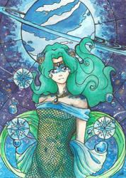Sailor Neptune - Michiru by lacie-alice