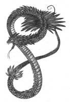 Quetzalcoatl by Wezyk