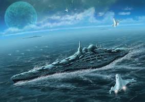 The last battleship by takemasa