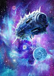 Antimatter velocity of light ship by takemasa