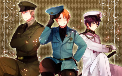 HETALIA SPECIALE TRIO by Cioccolatodorima