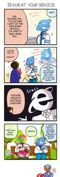 IE-kun's Valentine by Cioccolatodorima